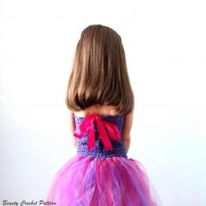 Crochet Pattern Tutu Dress Baby- Ch..
